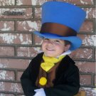 Jiminy Cricket Costume from Pinocchio with Wellington Style Top Hat green breeches tuxedo coat