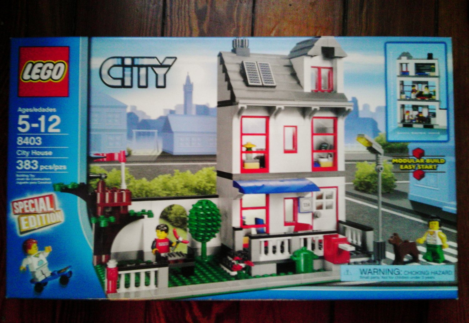 Lego Set City # 8403 Special Edition City House Retired ...