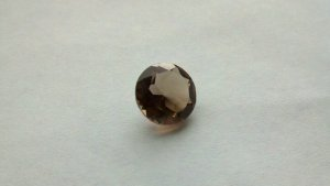 Smoky Quartz large round 5.10 ctw