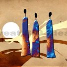 EC342 MODERN ABSTRACT ART GICLEE CANVAS PRINTS