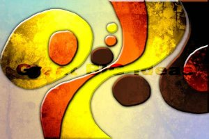 JX0150 MODERN ABSTRACT ART GICLEE CANVAS PRINTS