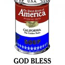 AMERICA SOUP CALIFORNIA