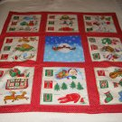 Christmas-Themed Baby Quilt