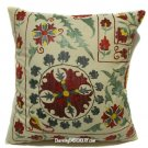 Pillow Embroidery, Silk Pillow cover, Suzani Pillows, Pillow Suzani Case Silk