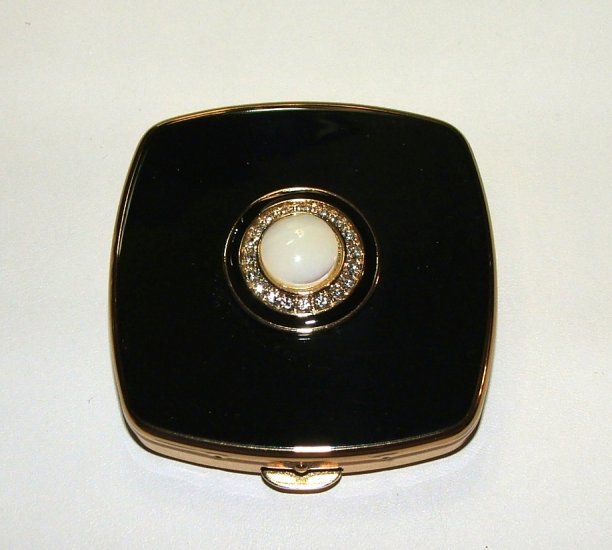 """SOLD""Vintage Jewelled Stratton Compact"