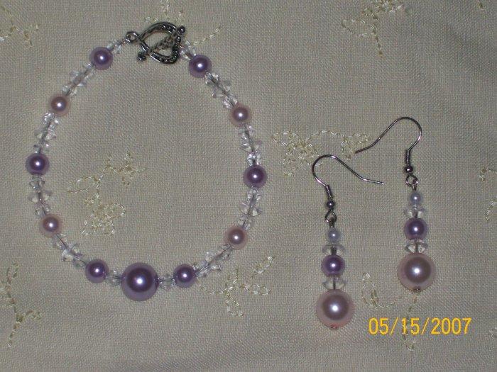 Crystal & Pearl Set
