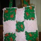 Christmas Rag Purse