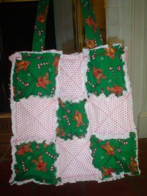 Christmas Rag Purse