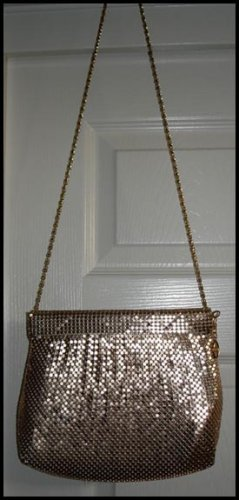 Vintage Gold Mesh Purse... FREE SHIPPING