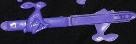 Hair Clip - Purple Bunny