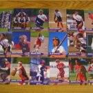 2000 USA WOMEN'S NATIONAL SOFTBALL CARDS - OLYMPIC GOLD
