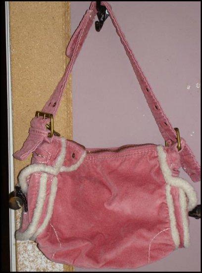 Pink soft purse