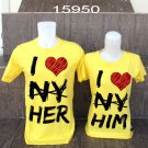 baju couple I love her/him