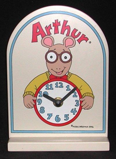 Arthur Character Clock