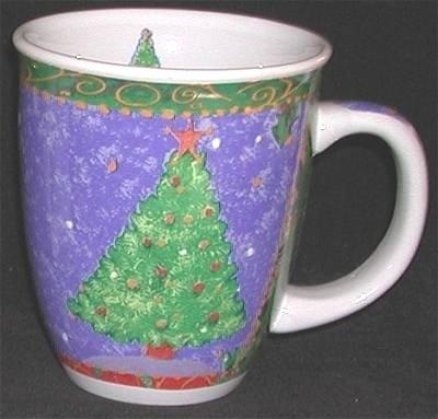 Festive CHRISTMAS TREE Mug