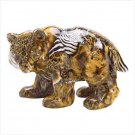 38333 - Patchwork Animal-Print Bear Figure