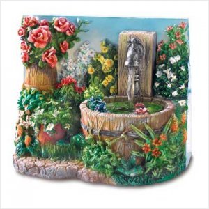 38802 - Floral Fantasy Mini-Fountain