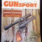 Vintage 1958 Gunsport Magazine
