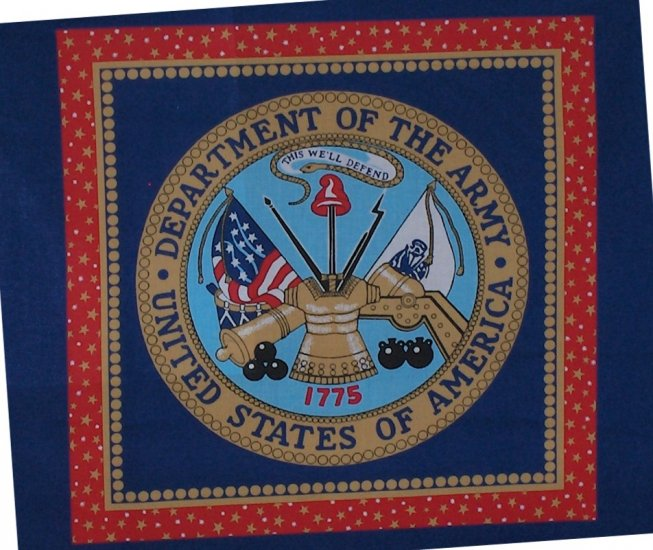 US Army Pillow Top