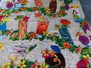 Beige Hawii Fabric