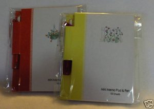Mini Memo Pads and Pens