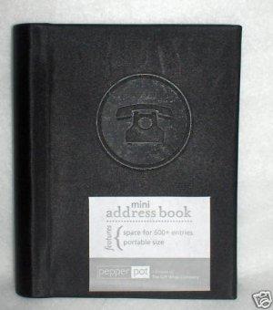 Masculine  Address Book