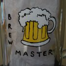 Brewmaster Hand Painted Beer Mug