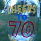 Custom Birthday Redneck Wine Glass