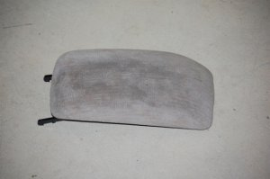 98-99 Toyota Corolla CENTER CONSOLE ARMREST LID Tan Cloth