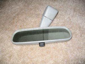 98 02 Toyota Corolla Rear View Mirror Grey