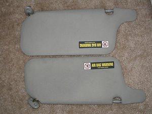 96-00 Honda Civic Sunvisors Grey