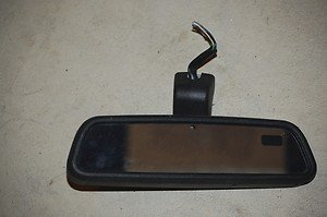 99-04 Land Rover Discovery Rear View Rearview Mirror Maplights