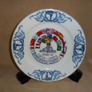 1984/32 olympic summer games commemorative plate