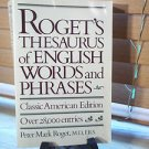 Rogets Thesaurus P Cha Riv *nr* by Samuel Romill Roget (1988, Hardcover)