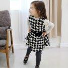 Size 140 Black - Girls' Long Sleeve Dress