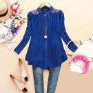 Size Asian M (US S(4) ,UK 6, AU 8) - Women's Long Sleeve Blouse