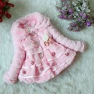 Size 6 Pink - Girls Junoesque Baby Faux Fur Coat