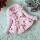 Size 8 Pink - Girls Junoesque Baby Faux Fur Coat