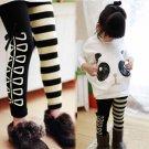 Size 100cm - Girls Set 2pcs Panda Winter Outfit