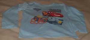 New Without tags Disney Cars shirt size 6