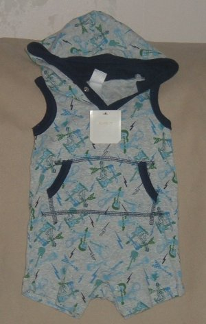 NEW infant boys OLD NAVY Rock romper