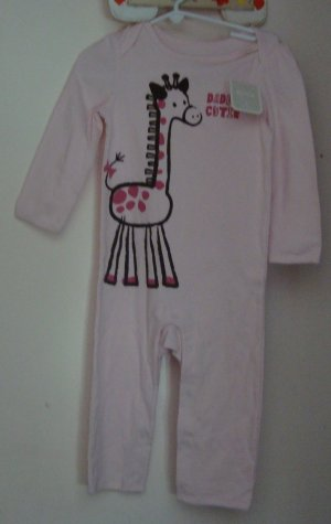 Girls NEW 18-24 OLD NAVY Giraffe 1 piece