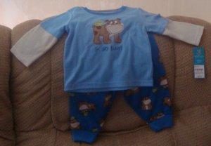 NEW 12 month pajamas