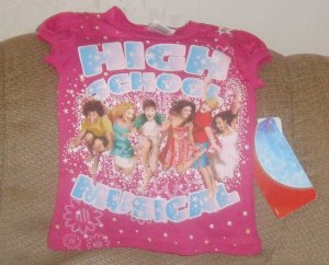 NEW size 4 High School Musical Tee