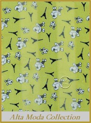 Paris collection satin scarf