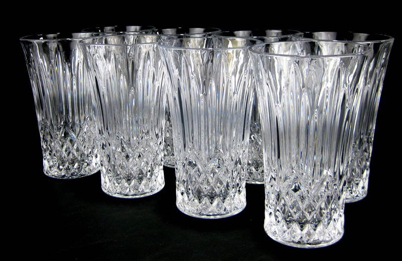 Crystal Drinking Glasses Set