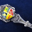 Collectible Vintage Aruba Souvenir Enamel Spoon