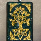 Dichroic Celtic Tree of Life pendant
