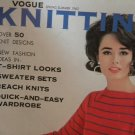 Vintage Vogue Knitting Magazine Spring Summer 1962