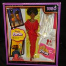 1980 Black Barbie Collector Red Dress & Accessories NIB